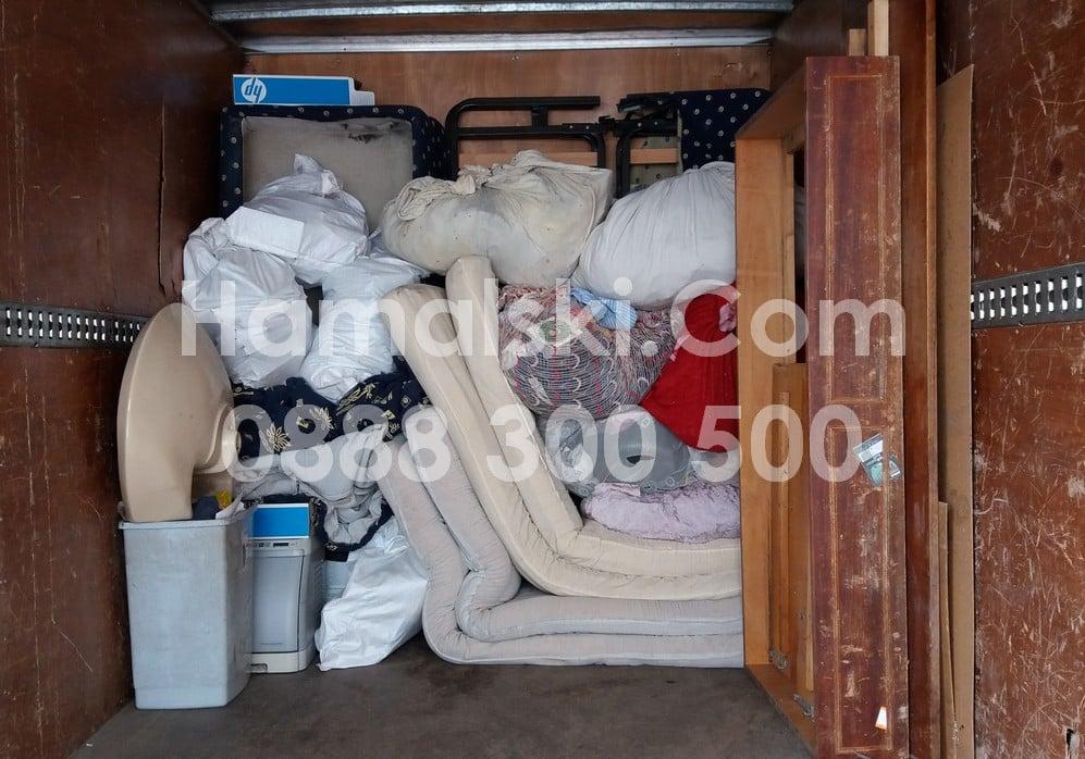 Изхвърляне на мебели и боклуци с камиони и хамали