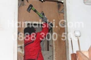 Почистване на апартамент с бригада хамали