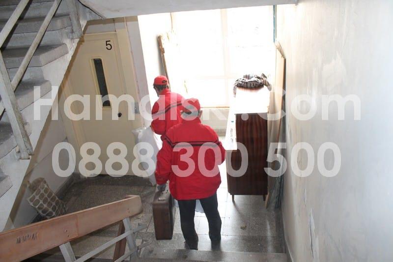 Почистване на апартамент от стари мебели